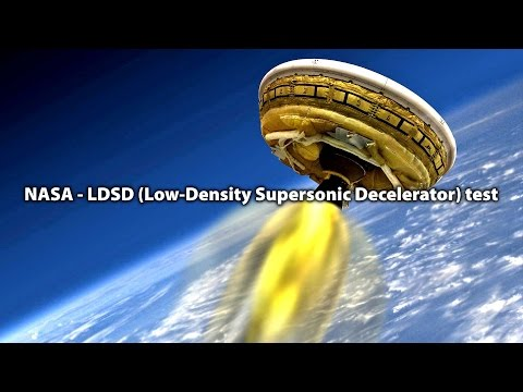 NASA - #LDSD (Low-Density Supersonic Decelerator) test