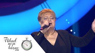 Ljilja Dobrosavljevic - Da sam ptica - (live) - Nikad nije kasno - EM 01 - 25.10.15.