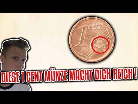 Diese 1 Cent Münze macht dich REICH !