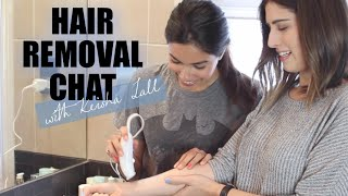 Hair Removal Chat with Keisha Lall | Lily Pebbles
