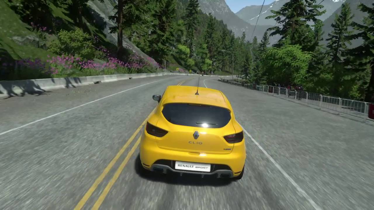Renault Clio RS - Driveclub - Test Gameplay (PS4)