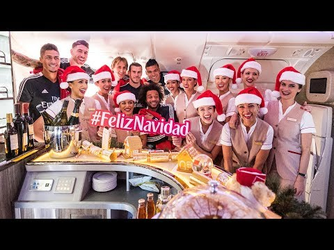 Happy Holidays from Emirates & Real Madrid C.F.