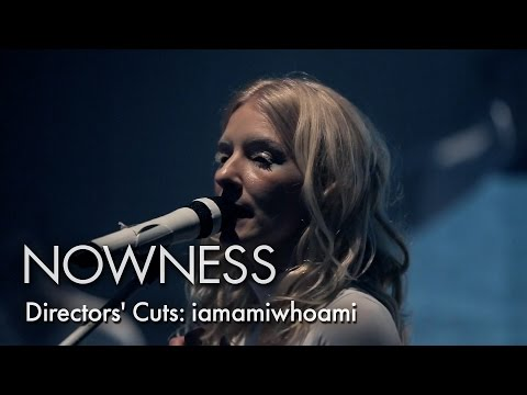 "Swedish electro auteur iamamiwhoami and Wave present ""Concert in Blue"""