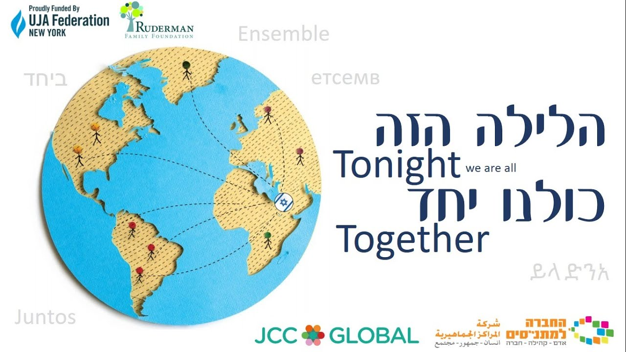"JCC families from around the world sing ""Ma Nishtana"""