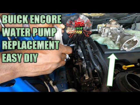 Buick encore water pump and thermostat replacement