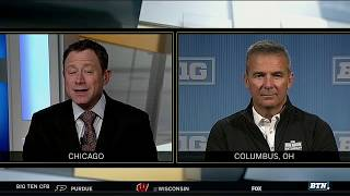 Urban Meyer Previews the B1G Football Weekend ahead | B1G Football
