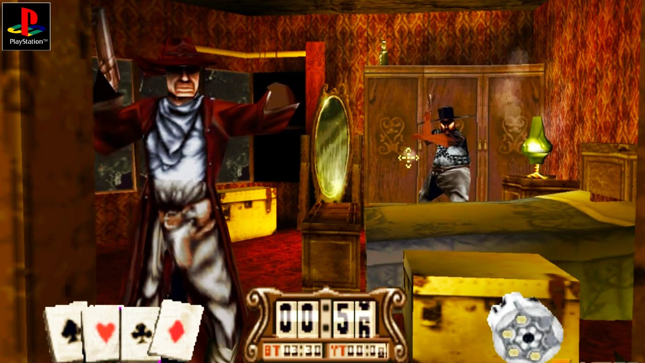 Gunfighter: The Legend of Jesse James - Gameplay PSX / PS1 / PS One / HD 720P (Epsxe)