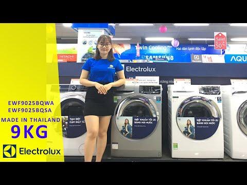 Máy giặt cửa ngang Electrolux 9kg bán chạy nhất 2020