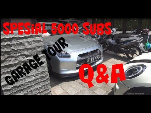 "SPESIAL 5000 SUBS | GARAGE TOUR & QnA | VLOG#34 ""CARVLOG INDONESIA"""