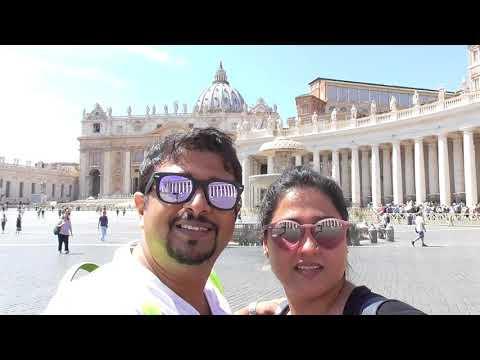 Italy Trip Vlog Part 2 (Vatican City)