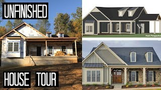 connectYoutube - Unfinished House Tour! + Why We're Building Vlog