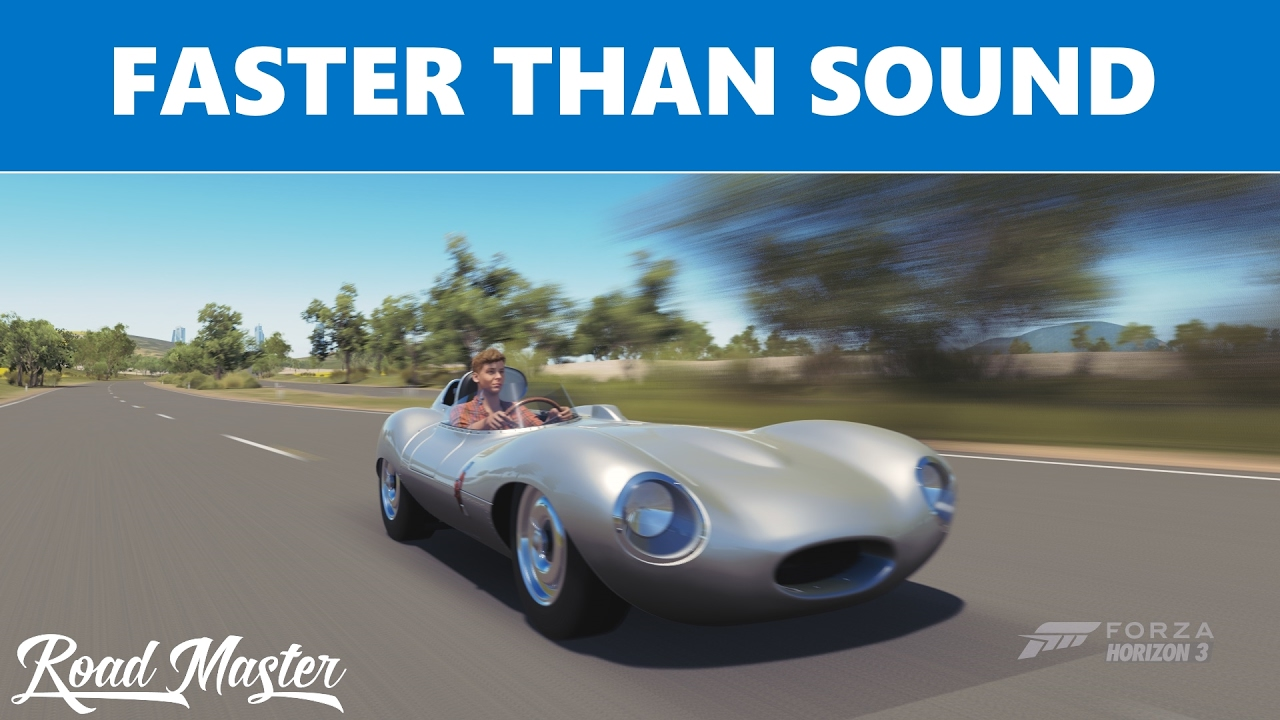 What Is The Fastest Car In Forza Horizon 3 >> FASTEST CAR IN FORZA HORIZON 3 - 1956 Jaguar D Type Top ...
