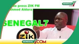Revue de presse Zik-fm du Mardi 11 juin avec Ahmed Aidara