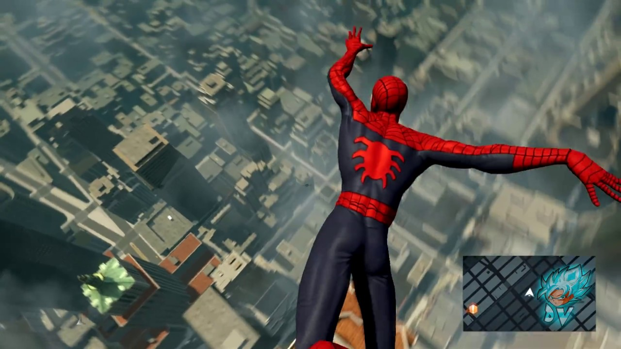 edge of time spiderman suit mod review - the amazing spider-man 2