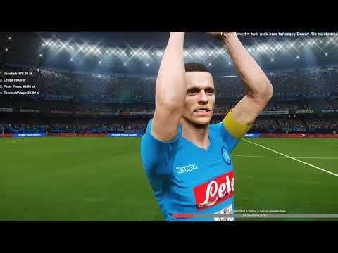 PES 2018 Kariera Menadżera | FINAŁ LIGI MISTRZÓW (Napoli vs Juventus)