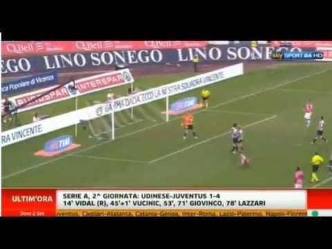 Udinese – Juventus 1 – 4 Ampia Sintesi SKY SPORT