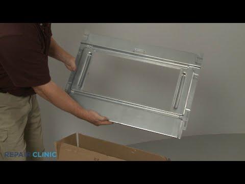 Lower Oven Door Retainer - Kitchenaid Double Oven Gas Range (Model #KFGD500ESS04)
