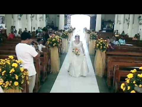 cebu wedding flashback amp bridal march redemptorist