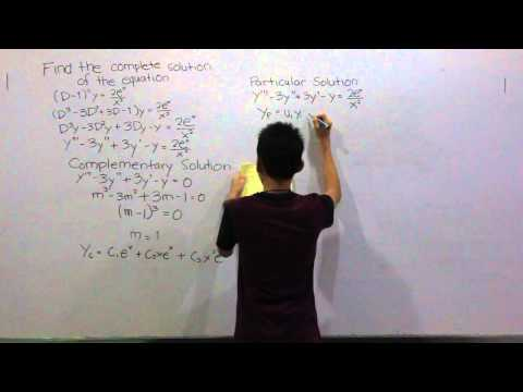 Higher Order Linear Differential Equation Video Tutorial - Lendio (2)