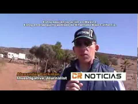 ENSENADA MEXICO: Eye-witnesses see UFO land and transform into a Fallen Angel