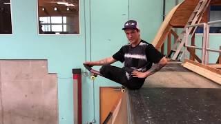 Felipe Nunes Skates Tony Hawk's Vert Ramp