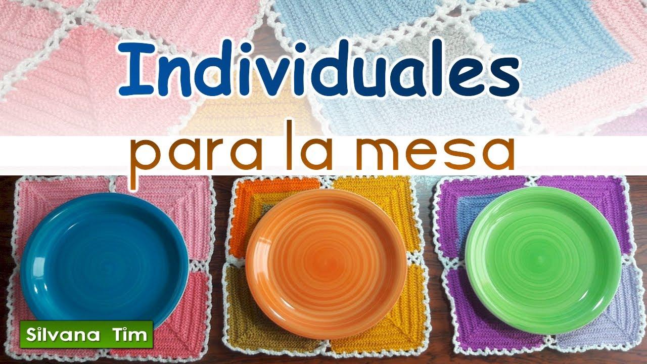 Individuales para la mesa c mo unir los motivos tejido a - Individuales para mesa ...