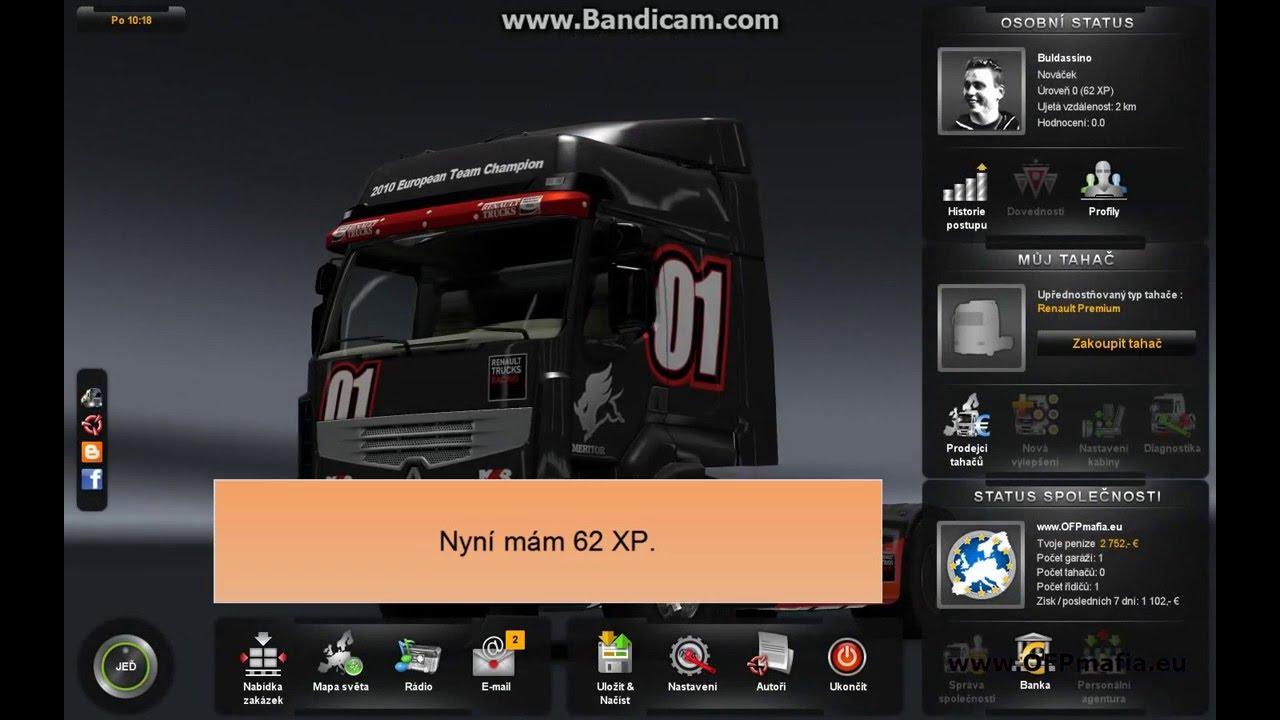 Euro Truck Simulator 2 - Cheat Level / Engine (100% working)