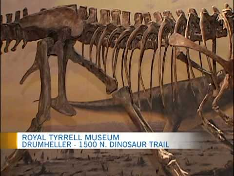Travel Alberta -- Royal Tyrrell Museum 1