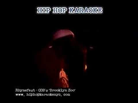 """Hip Hop Karaoke NYC - Rhymefest performs """"Brooklyn Zoo"""""""