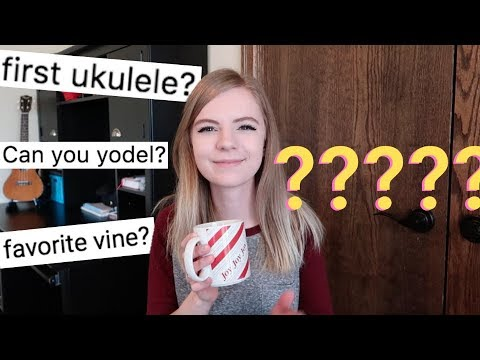 At what age did I start playing ukulele + other burning questions | Q&A
