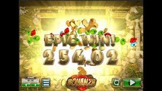 Bonanza Slots Machine Bonus Game - What a Win