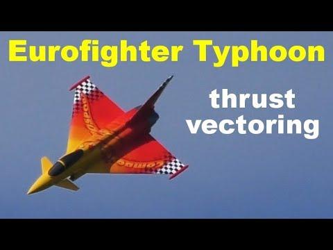 Eurofighter Typhoon / Eurosport - Jet Turbine RC Airplane With Thrust Vectoring, 2019