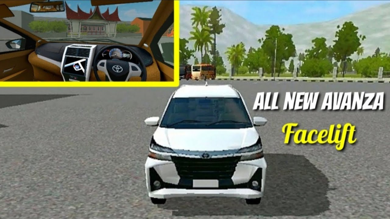 All New Avanza Facelift Mod Bussid Terbaru Di 2020 Youtube