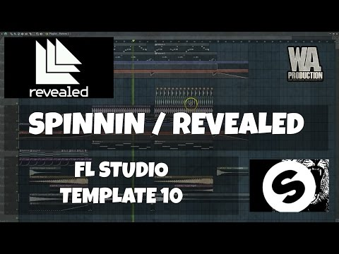 FL Studio Template 10: Spinnin / Revealed EDM 2016 Style Project (+ FREE Samples, Presets)