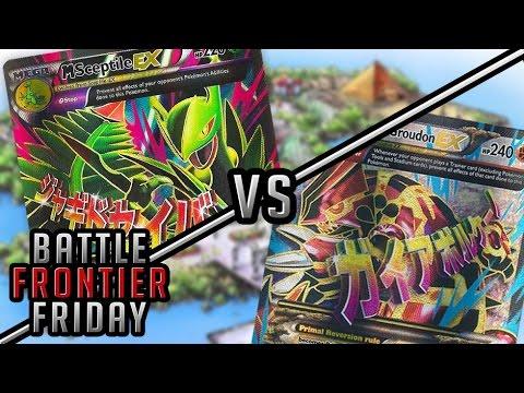 Pokémon TCG Matchup - M Sceptile EX vs Primal Groudon EX   Battle Frontier Friday #8!