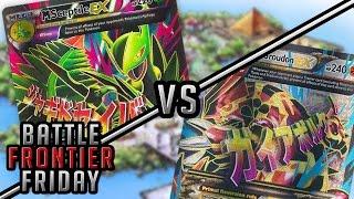 Pokémon TCG Matchup - M Sceptile EX vs Primal Groudon EX | Battle Frontier Friday #8!