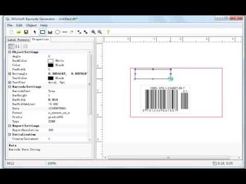 How to Create & Print ISBN Book Barcodes