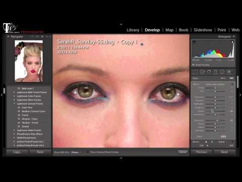 How To Do A Complete Portrait Retouch in Lightroom 5