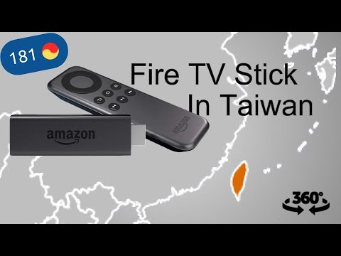 ME WITH FIRE TV STICK IN TAIWAN ( related Android To TV)  | 360 VR Video | 181