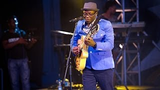 Awesome live performance by Jimmy Dludlu at the Calabar International Jazz Festival 2013