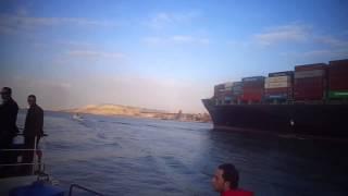 الملاحة بقناة السويس الحالية والحفر والتكريك فى قناة السويس الجديدة