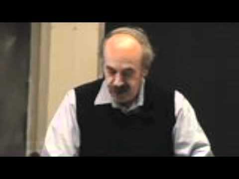 Latke Hamentashen Debate 2011 Professor Bob Weinberg