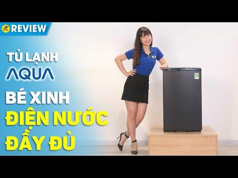 Tủ lạnh Aqua 90 lít: Cực kì nhỏ gọn, dễ dàng sử dụng (AQR-D99FA(BS)) • Điện máy XANH