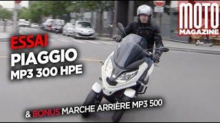 PIAGGIO MP3 300 HPE SPORT - Essai Moto Magazine