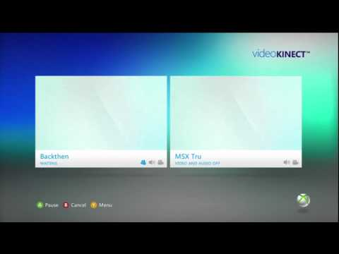 Video Kinect Chat On Xbox 360