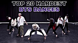 TOP 20 HARDEST BTS DANCES