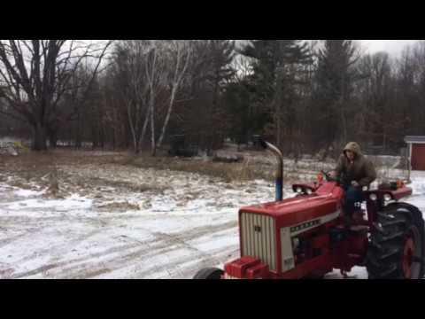 Farmall 706 Diesel Cold Start