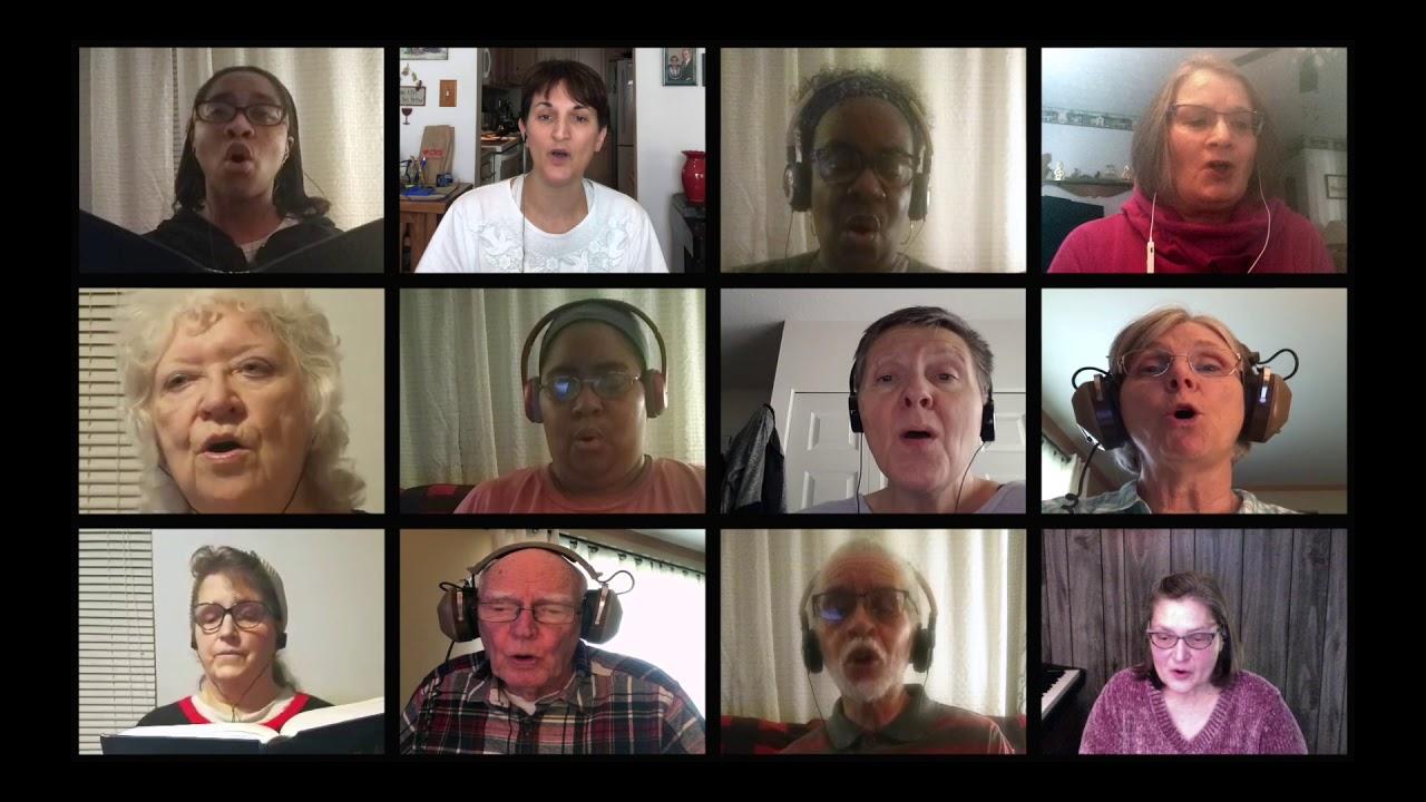 Harmony Sings Virtual Choir Seek Ye First