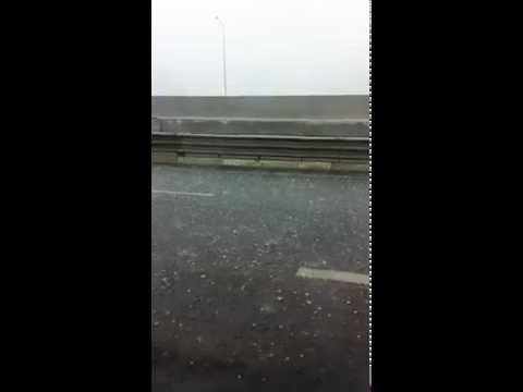 Crazy weather in Brisbane...