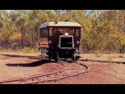 A Ride on Antique RM60 Gulflander Railway Normanton